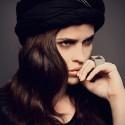 top: Mila Miyahara, head scarf: Vintage, ring: Bergner Schmidt