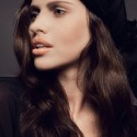 top: Mila Miyahara, head scarf: Vintage