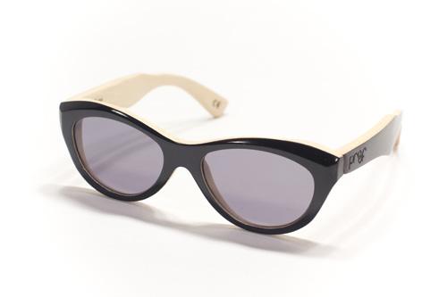 Wood Frame Glasses Shark Tank : dame-blackstainedglossbamboo-gray - BLENDBUREAUXBLEND\BUREAUX