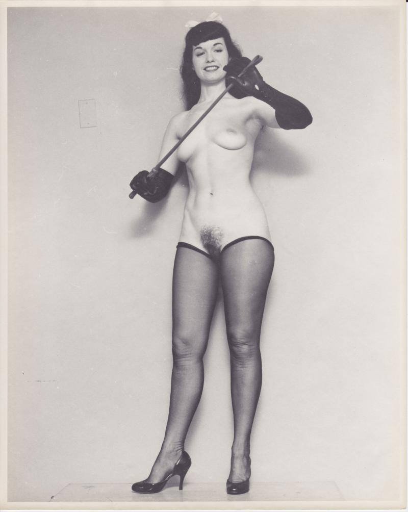 Betty Page Nude Photo 111