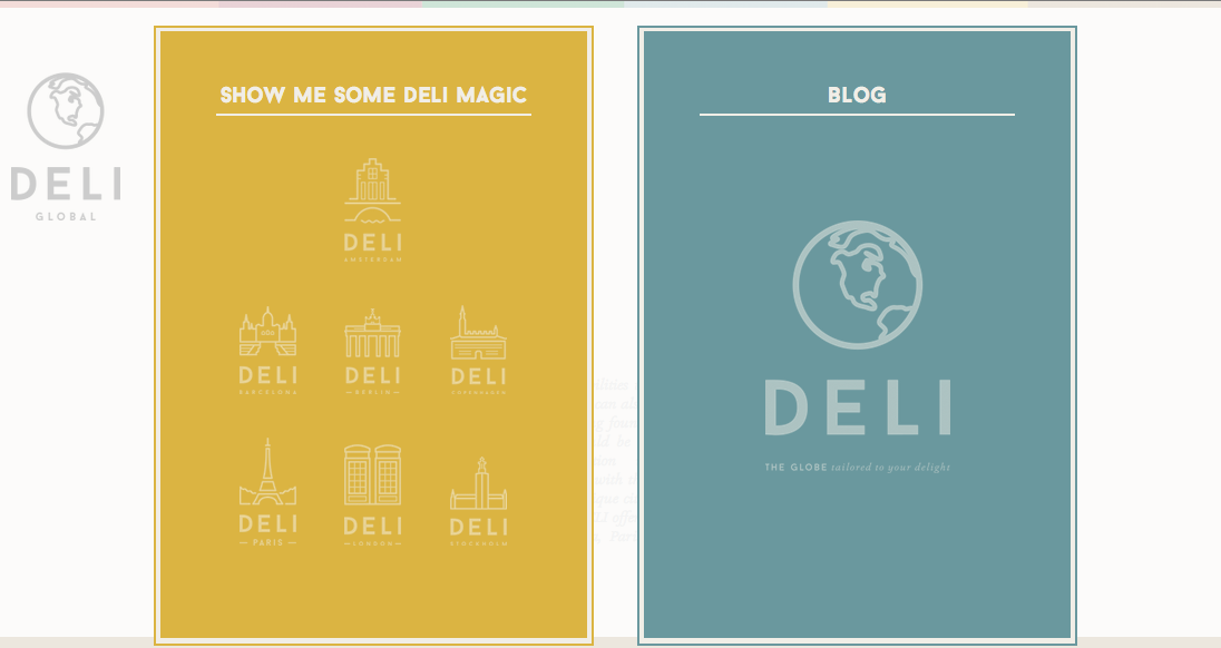 DELI gives personalized travel suggestions based on a little Buzzfeed-like quiz