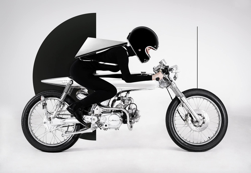 Konstantin Kofta teams up with bandit9 for a custom motorcycle