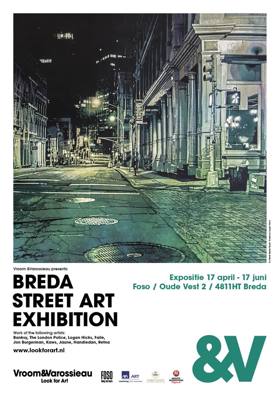 Vroom&Varossieau proudly presents Breda Street Art Exhibition